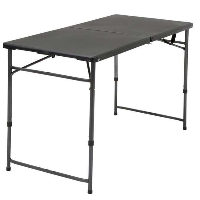Cosco 4 Foot Folding Dining And Game Table 14403blk2