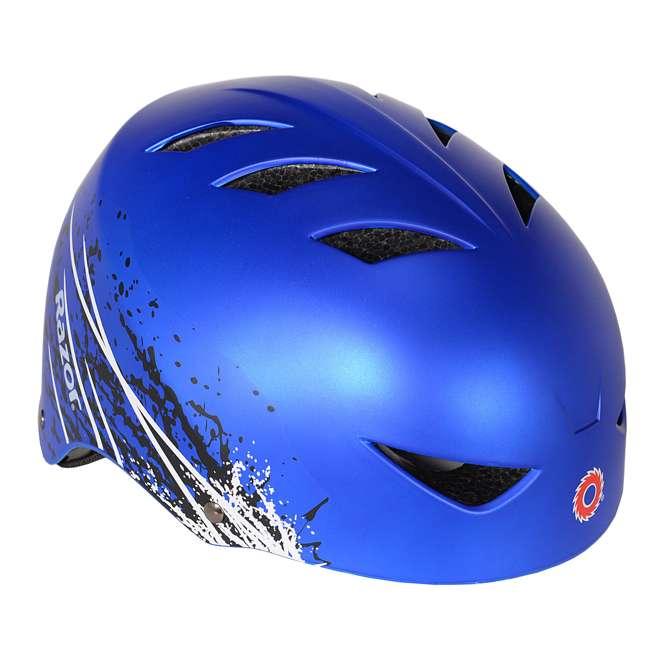 97974 Razor Ambush Child's Helmet, Blue (2 Pack) 1