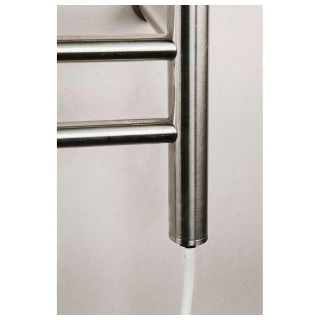 RWP-SB-OB Amba  RWP-SB Radiant 10-Bar Plug-In Heated Towel Warmer, Brushed (OPEN BOX) 3