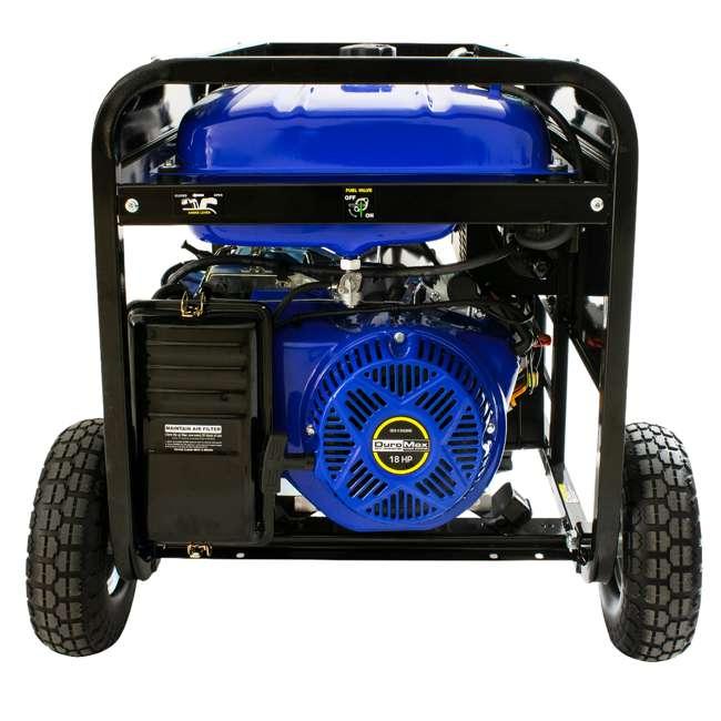 XP12000EH + XPLGC DuroMax 12000 Watt Portable Hybrid Generator & Generator Cover, Black 5