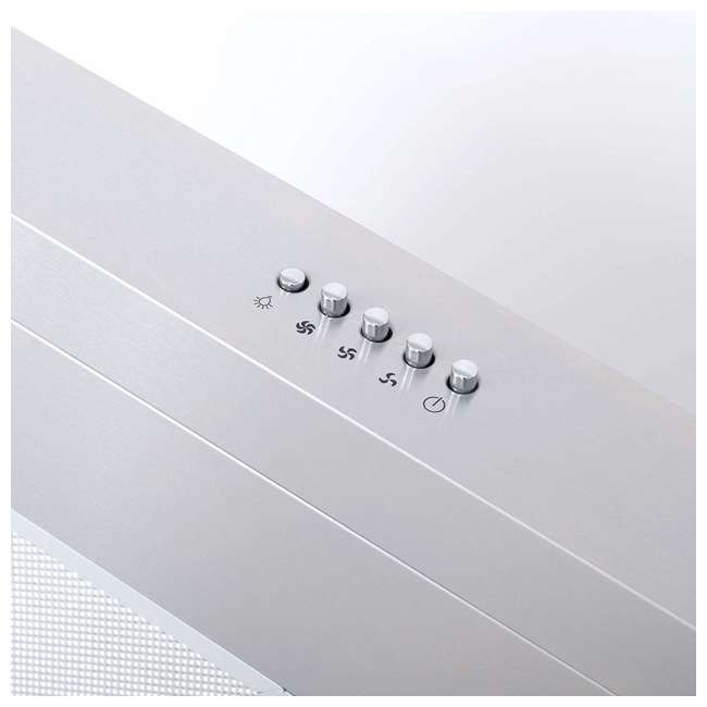 COS-5U30 Cosmo COS-5U30 30 Inch Under Cabinet Range Hood w/ Push Control, Stainless Steel 2