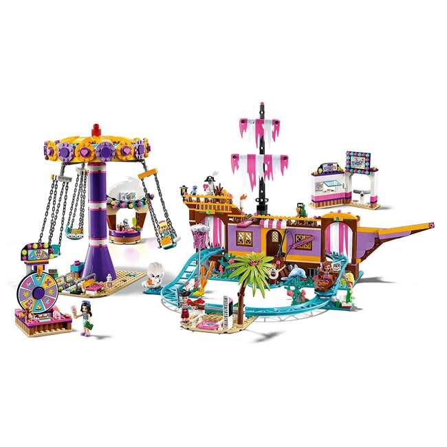 6251658 LEGO Friends 41375 Heartlake City Amusement Pier Block Building Set w/ 5 Figures 2