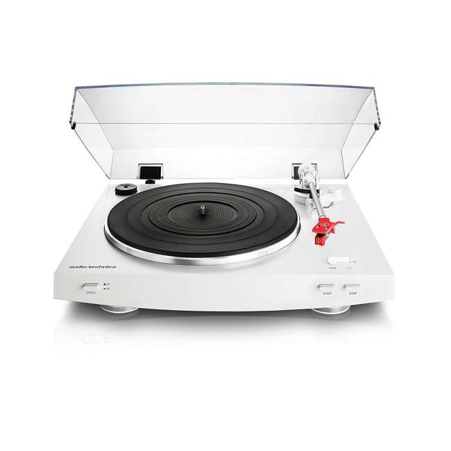 AT-LP3WH-OB Audio Technica LP3WH Automatic Belt-Drive Stereo Turntable Record Player