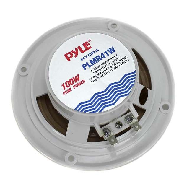 PLMR41W Pyle PLMR41W 4-Inch Marine/Car Speakers 3