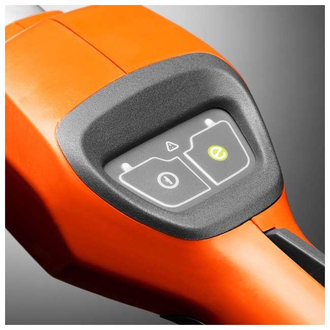 HV-BL-967094202 + HV-HT-967098602 40V Lithium Ion Leaf Blower w/ Electric 22 Inch 36 Volt Cordless Hedge Trimmer 10