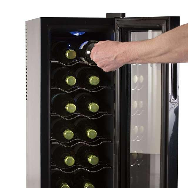 BWT12TB-U-A Black + Decker Thermoelectric 12-Bottle Wine Cellar, Black (Open Box) 3