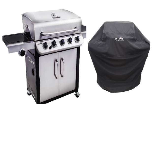 Char Broil Performance 5 Burner Gas Grill Char Broil Performance 5