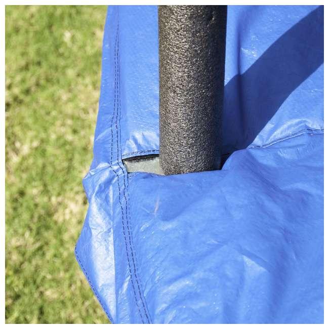 JK15VC2-BOX1 + JK15VC2-BOX2 + XDP-70113 JumpKing 15 Foot Trampoline and XDP Recreation Ground Anchor Kit 5