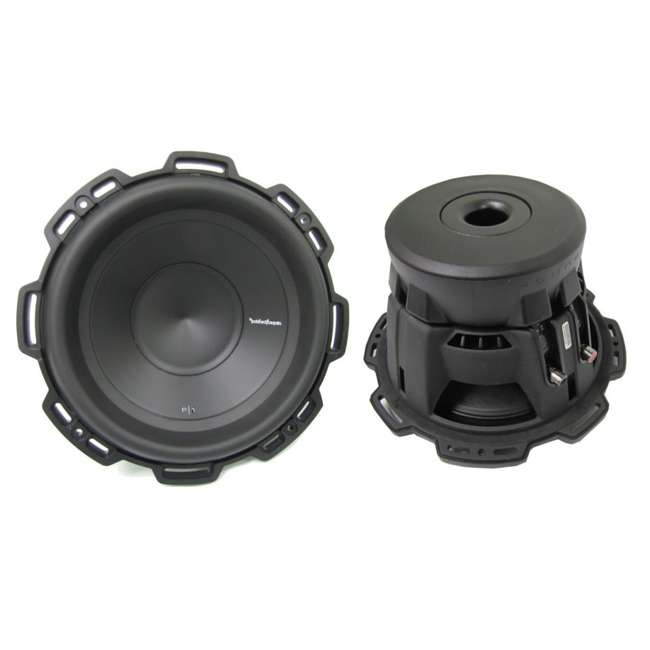 "P1S4-10-U-B ROCKFORD FOSGATE 10"" 500 Watt 4-Ohm Car Audio Subwoofer Sub P1S410 (Used) 1"