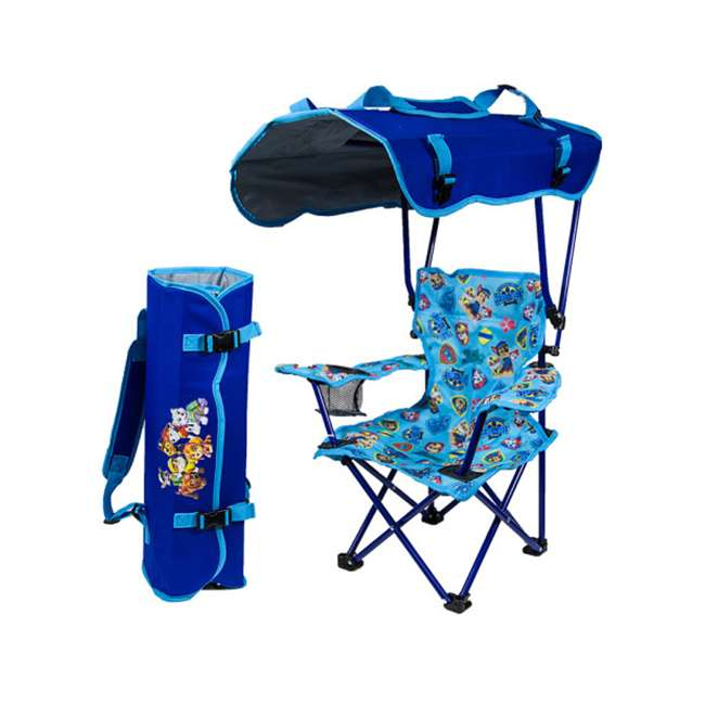 26306-U-A Kelsyus Kids Paw Patrol Folding Backpack Kid's Canopy Lounge Chair (Open Box)