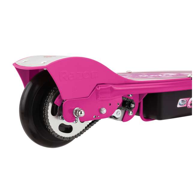 13111263 + 97783 Razor E100 Kids Motorized 24V Electric Powered Scooter, Sweet Pea with Helmet 5
