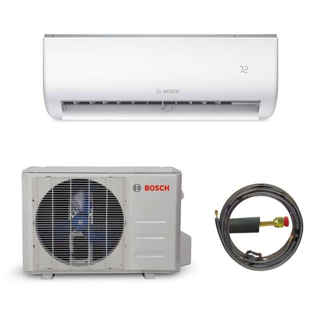 8733942691 + 8733942692 + 8733951010 Bosch Climate 5000 Mini Split Air Conditioner AC Heat Pump System, 9,000 BTU