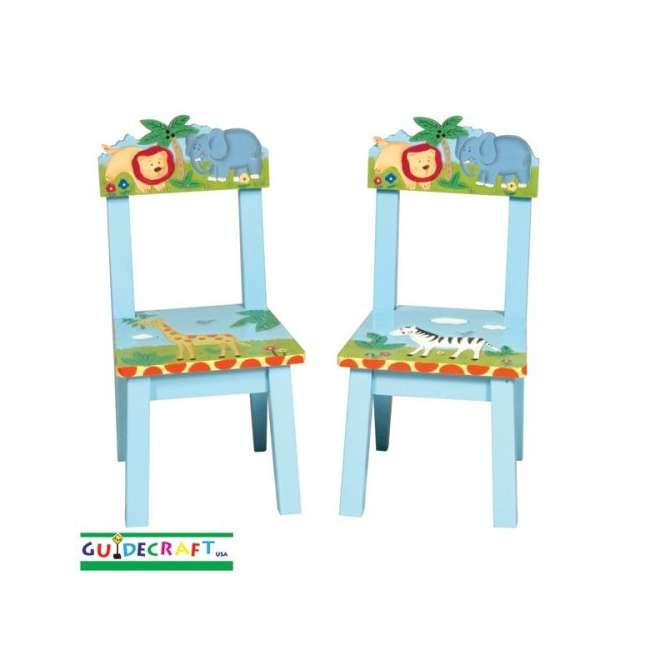 G83203 Guidecraft Safari Chairs (Set of 2)