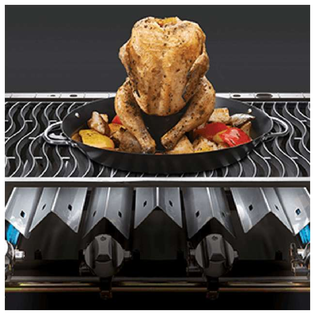 P500RSIBPB-1 + WS-61500 Napoleon Prestige Grill with Infrared Side and Rear Burners + Protective Cover 9