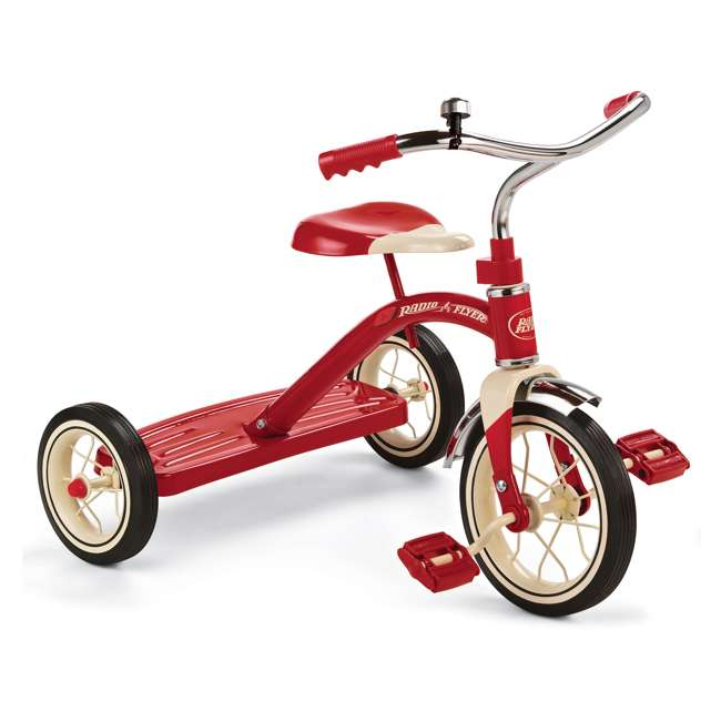 34B Radio Flyer Classic 10 Inch Toddler Tricycle, Red