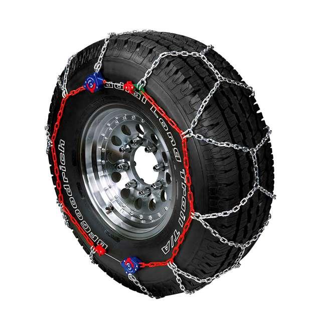 231805-U-A Auto-Trac  Tightening & Centering Winter Snow Tire Traction Chains (Open Box)