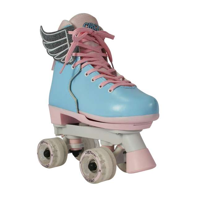 168260 Circle Society Classic Cotton Candy Kids Skates, Girls Sizes 12 to 3 1