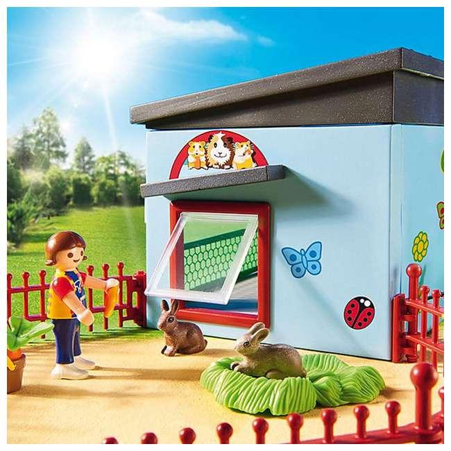PLAY-9277 Playmobil Small Animal Boarding Building Kids Educational Toy Set & Figurines 3