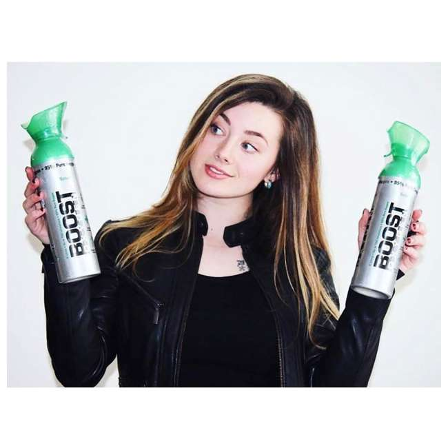 9 x 401-BOOST Boost Oxygen Canned 2-Liter Natural Inhaler Canister Bottle, Flavorless (9 Pack) 3