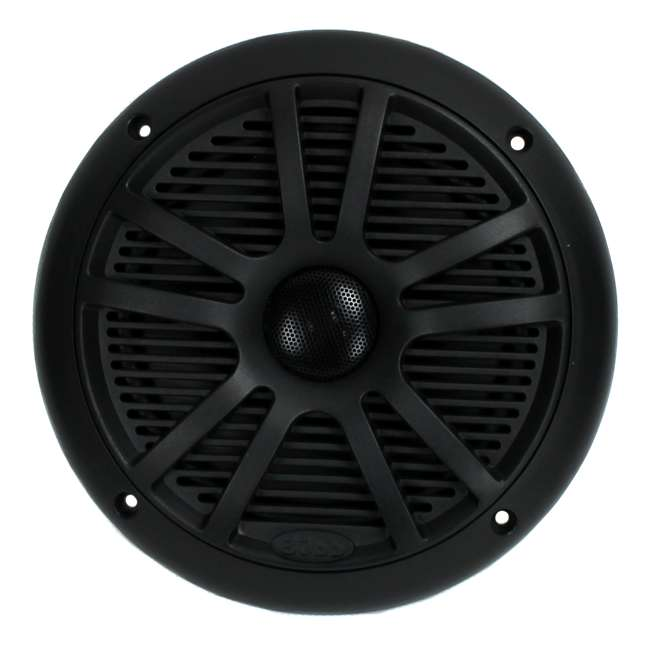 "6 x MR6B Boss 6.5"" 180W Dual Cone Black Marine Audio Speakers (12 Pack) 2"