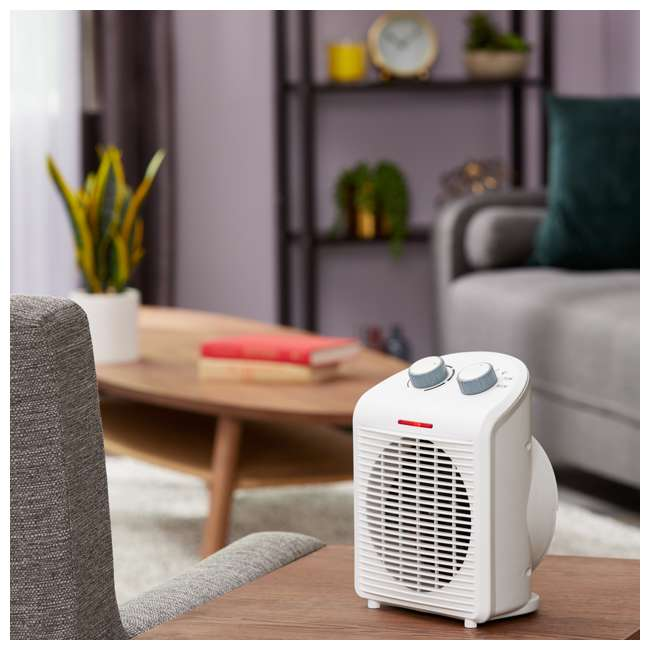 LIM-19-100001 Limina Portable Home Office Personal Electric 1500W Fan Forced Room Space Heater 1