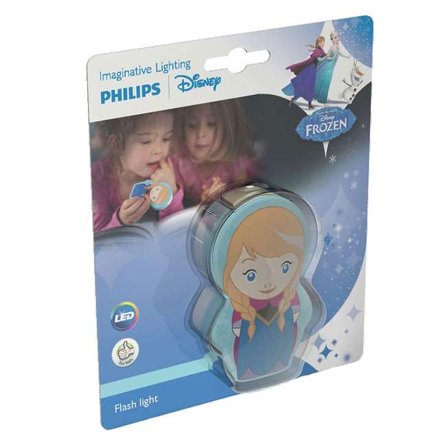 PLC-7176737U0 Philips Battery-Powered LED Disney Frozen Anna Flashlight, 2-Count 6
