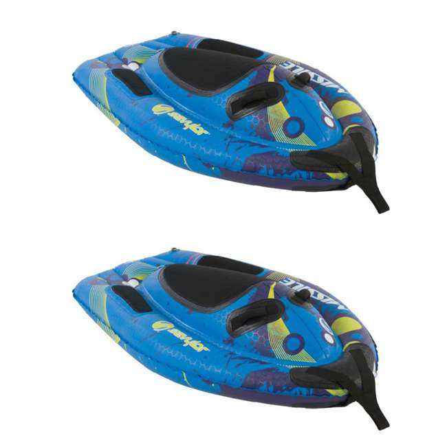 2000006924 (2) Sevylor Missile Sharkglide 1-Person Towable Water Tubes