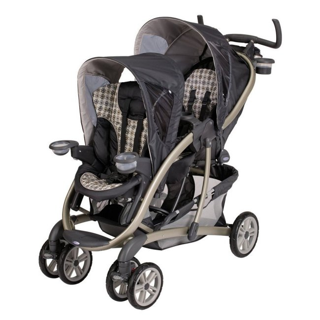 Graco Quattro Tour Duo Baby Stroller Snugride Twin Car
