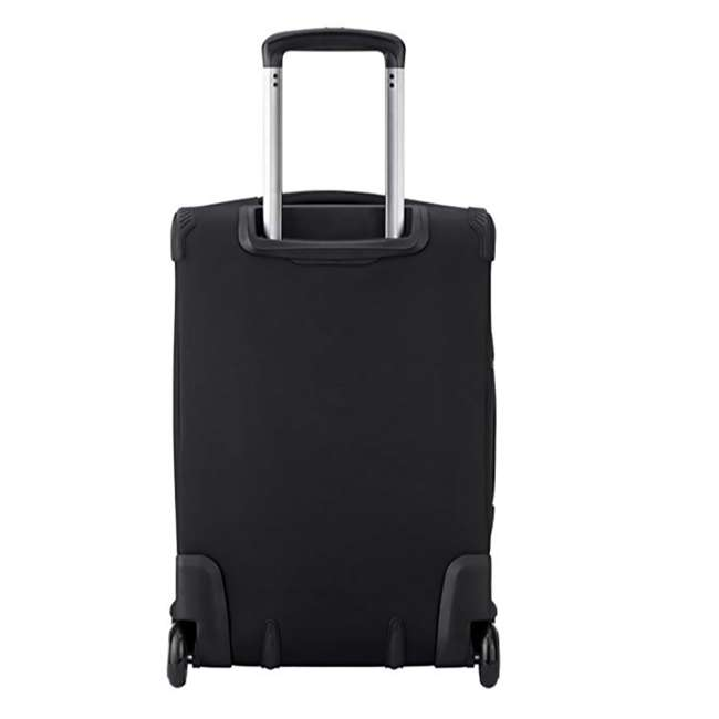 """40229172000 DELSEY Paris 20"""" Upright Expandable 2 Wheel Hyperglide Carry On Luggage, Black 2"""