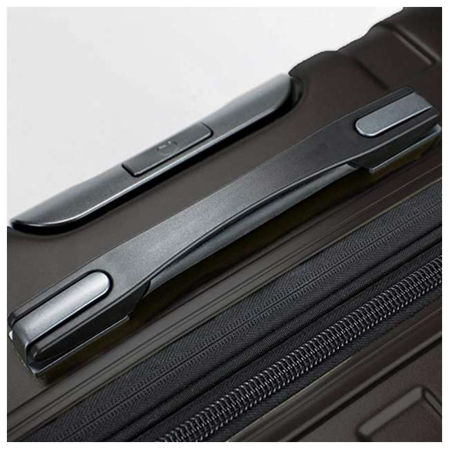 00207180000 DELSEY Paris Titanium Expandable CarryOn Spinner Rolling Luggage Suitcase, Black 2