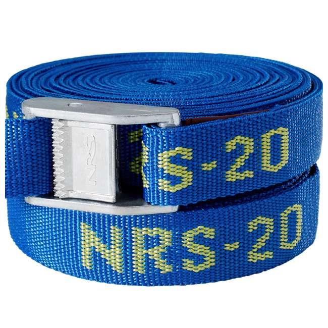 NRS_60001_01_117 NRS 1-Inch Long Heavy Duty Tie Down Strap, 20 Feet Long (Pair) 5