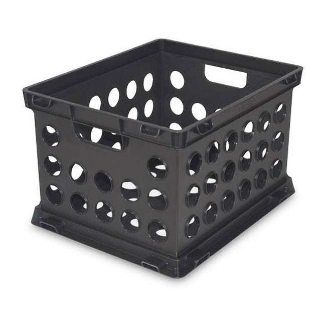 6 x 16939006-U-A Sterilite Plastic Heavy Duty Stacking Storage Containers (Open Box)(6 Pack) 2