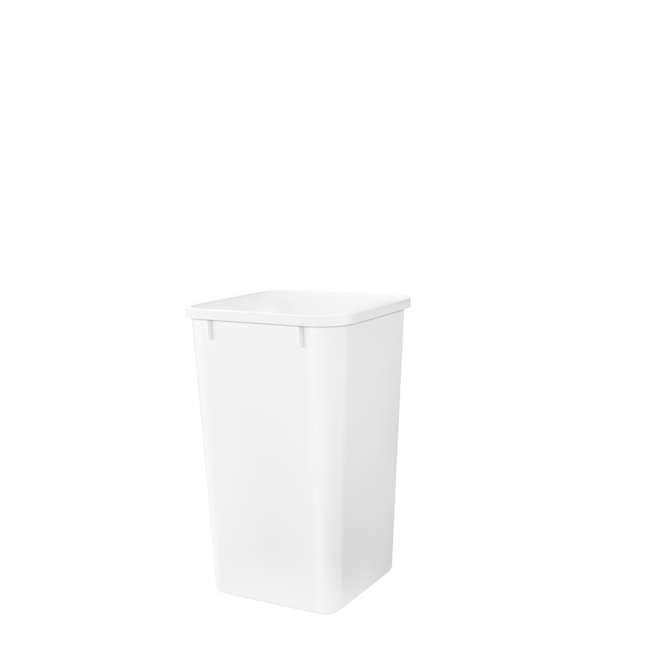 RV-1024-52 Rev-A-Shelf RV-1024-52 27 Quart Replacement Kitchen Trash Waste Container, White