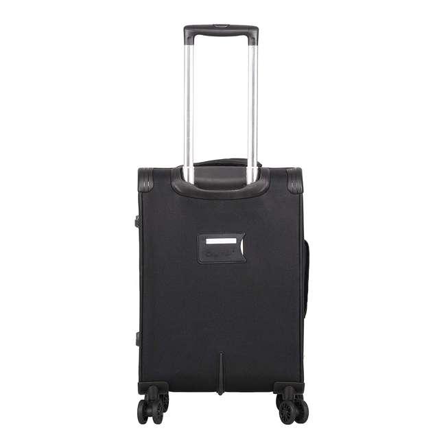 AERO9427 21 + FB9427 BLACK FBA Aerolite Ultra Lightweight Airline Approved Carryon & Under-Seat Suitcase, Black 2
