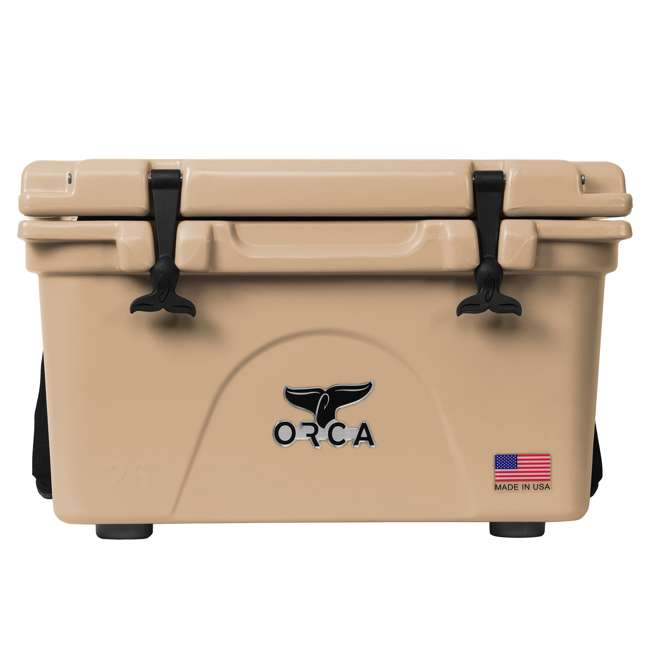 ORCT026 ORCA 26-Quart 6.5-Gallon Ice Cooler, Tan 3