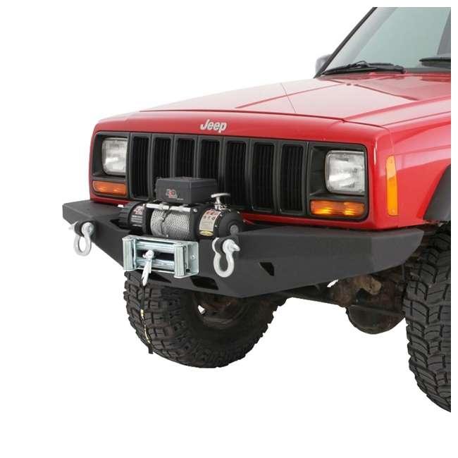 76810-SMITTYBILT Smittybilt XRC Rock Crawler Winch Front Bumper with D-ring Mounts 3