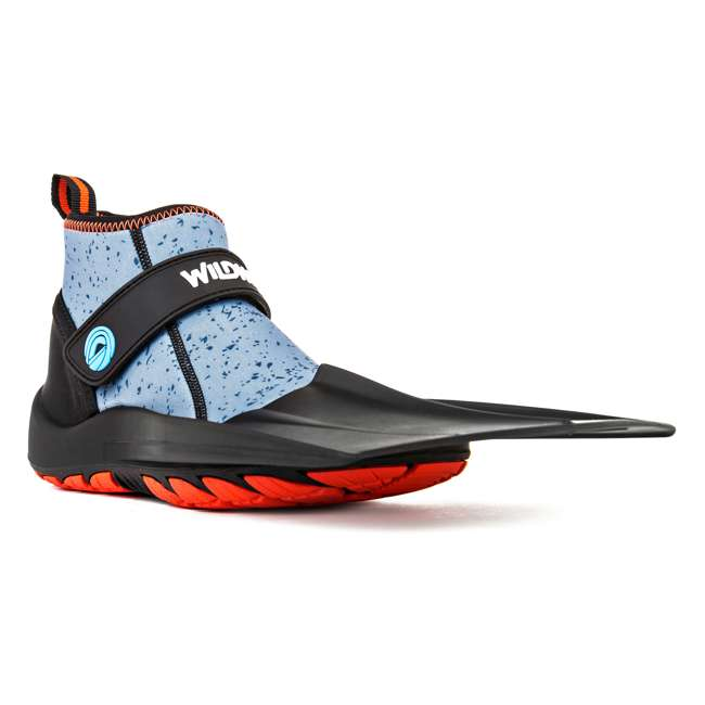 TS-MR-M9-W9-9.5 Wildhorn Men's 9 - Women's 9-9.5 Topside Hydro Snorkel Flippers, Manta Ray 5