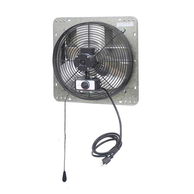 ILG8SF14V-T iLiving ILG8SF14V-T 14 Inch 3 Speed Attic Garage Growing Ventilation Exhaust Fan 2