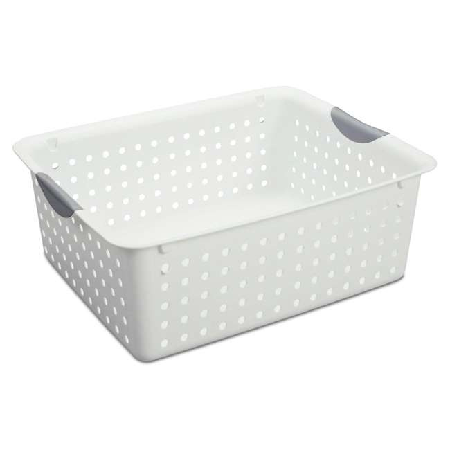 42 x 16268006-U-A Sterilite Large Ultra Plastic Storage Bin Organizer Basket (Open Box) (42 Pack) 4