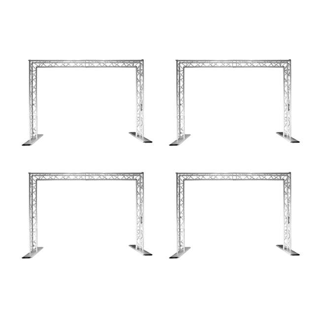 4 x QT-GOAL Chauvet Trusst QT-Goal Post Kit Mobile Truss System (4 Pack)