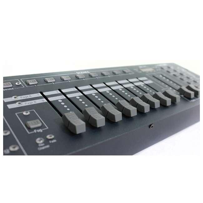 OBEY40 + DMX3P25FT + 3 x DMX3P10FT Chauvet OBEY40 Obey 40 DMX-512 Universal LED Light Controller w/ 10' & 25' Cables 5