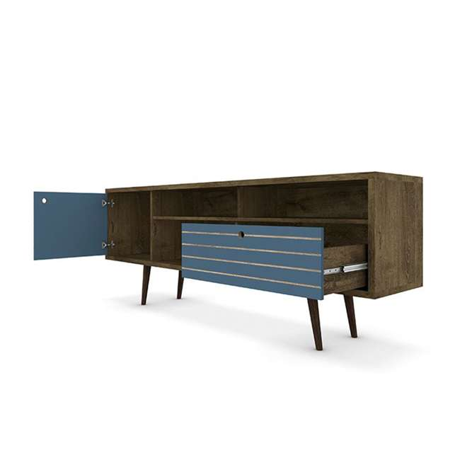 202AMC93 Manhattan Comfort Liberty 70.86 Inch Mid Century Modern Wood TV Stand with Legs 1