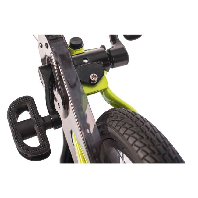 SK-SP1-US-GN Strider 14x 2-in-1 Kids Balance to Pedal Bike Kit, Green 5