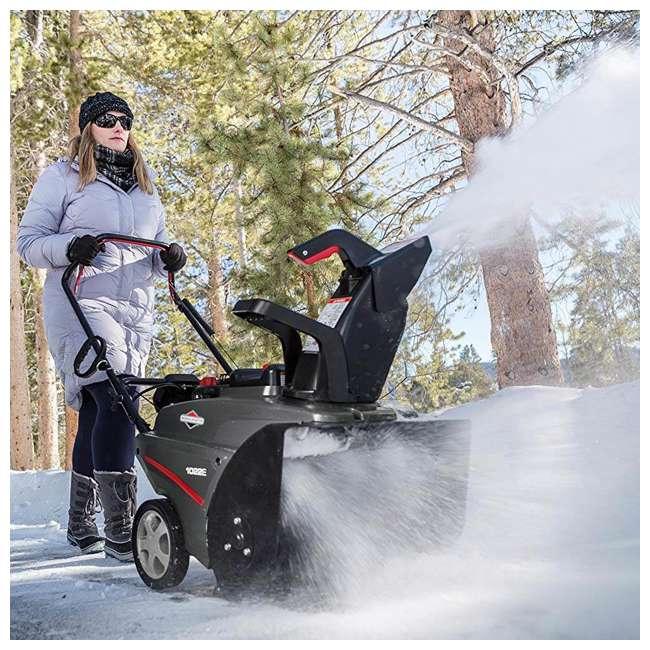 "1696715 Briggs & Stratton 22"" 208cc Electric Start Gas Snow Thrower (2 Pack) 6"