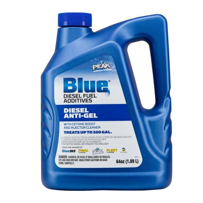 BDDAG64 PEAK Blue 64 Ounce Anti-Gel Diesel Fuel Additive for Cold Weather Performance