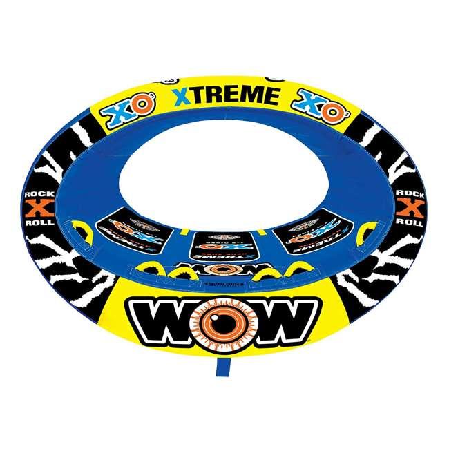 12-1030 Wow Sports 3-Person XO Extreme Towable Rider Tube, Blue