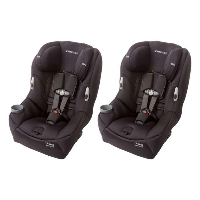 CC121BIZ Maxi-Cosi Pria 85 Convertible Car Seat, Devoted Black (2 Pack) 2