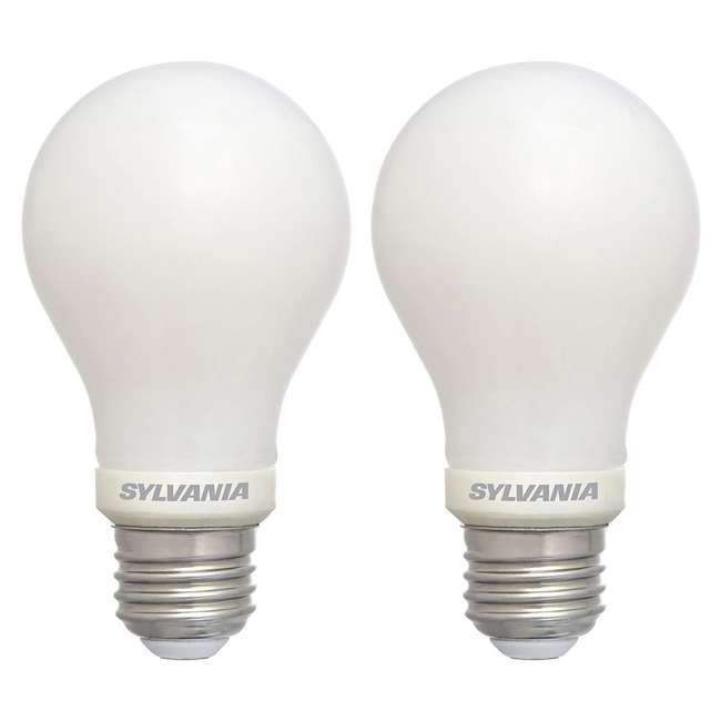 SYL-74688 Sylvania 40 W Equivalent LED Light Bulb, Dimmable, Soft White (2 Pack)