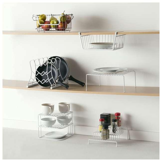 CD30626 + SB01421 + CS30363 + SR30371 Home Basics Can Rack & Spice Rack & Step Rack & Hanging Rack 1