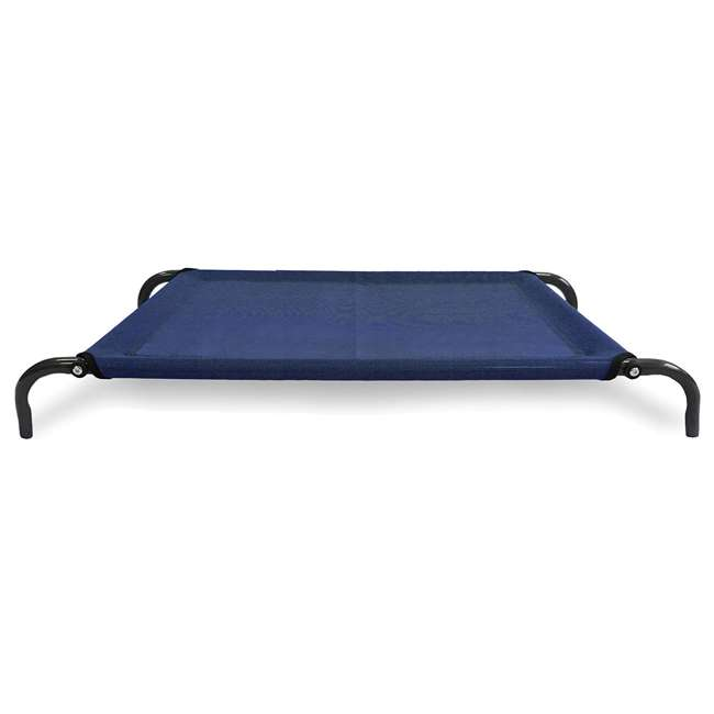55443435 Furhaven 55443435 Large Mesh Fabric Pet Dog Cot Bed Replacement Cover, Deep Blue